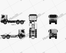Renault Kerax Tractor Truck 2011 clipart