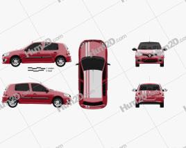 Renault Clio Mercosur Sport 5-door hatchback 2013