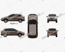 Renault Koleos 2014 car clipart