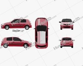 Renault Clio Mercosur Sport 3-door hatchback 2013