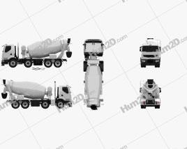Renault Premium Lander Mixer Truck 2006
