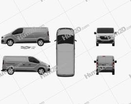Renault Trafic Panel Van 2014