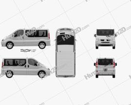 Renault Trafic Passenger SWB SR 2011