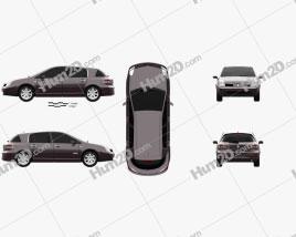 Renault Vel Satis 2005 car clipart