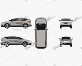 Renault Espace 2015 clipart