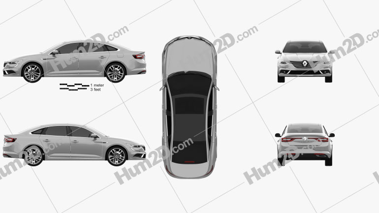 Renault Talisman 2016 car clipart