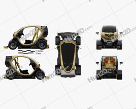 Renault Twizy Z.E. R.S. F1 2013