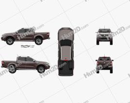 Renault Alaskan 2016 car clipart