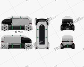 Renault EZ-PRO 2018 clipart