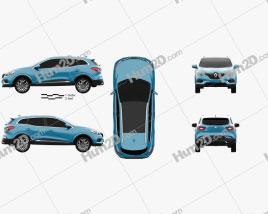 Renault Kadjar 2019 car clipart