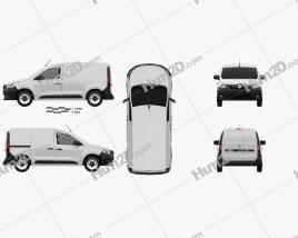 Renault Express Van 2021 clipart