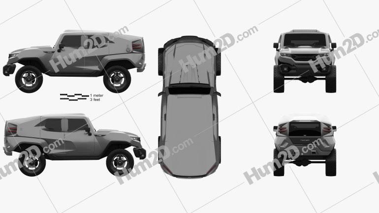 Rezvani Motors Tank 2017