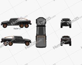 Rezvani Motors Hercules 6×6 2021 car clipart