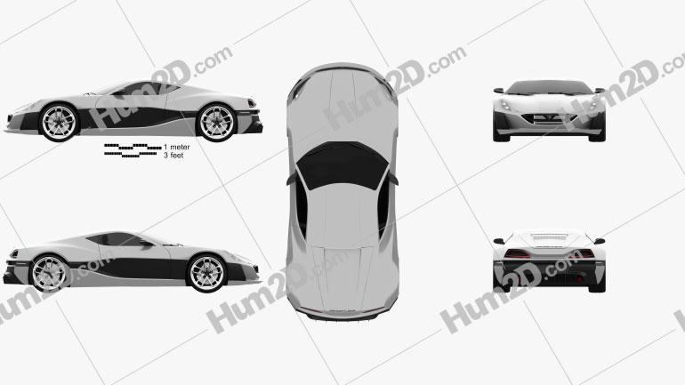 Rimac Concept One 2016