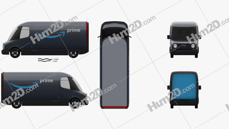 Rivian Amazon Delivery Van 2020