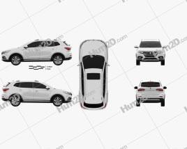 Roewe eRX5 2018 car clipart