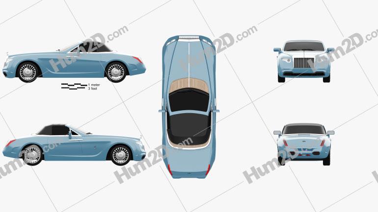 Rolls-Royce Hyperion 2008 car clipart