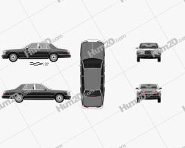 Rolls-Royce Silver Seraph 1998 car clipart