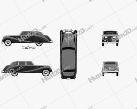 Rolls-Royce Silver Wraith Touring Limousine 1955