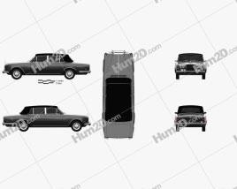 Rolls-Royce Silver Wraith LWB 1965