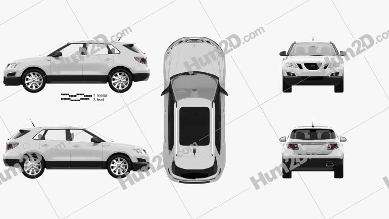 Saab 9-4X 2012