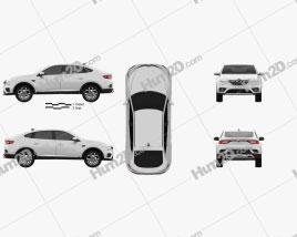 Samsung XM3 2020 car clipart