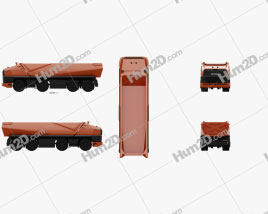 Scania AXL Dump Truck 2019