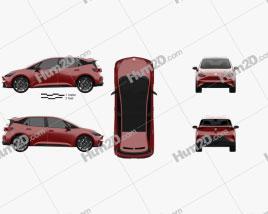Seat el-Born 2019 car clipart