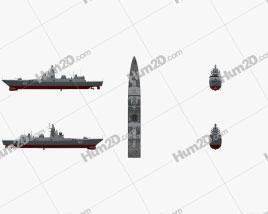 Admiral Gorshkov-class frigate Navio clipart