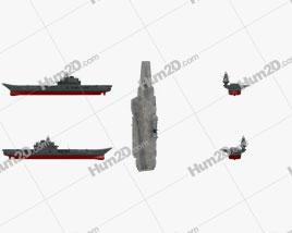 Admiral Kuznetsov aircraft carrier Ship clipart