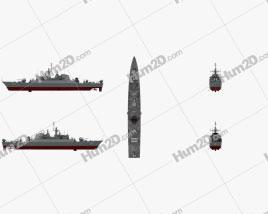 Alvand-class frigate Ship clipart