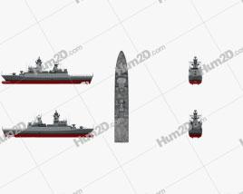 Braunschweig-class corvette Ship clipart