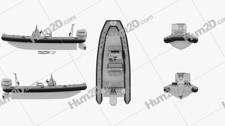 Brig N700 2016 Navio clipart