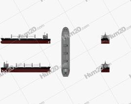 Sabrina I Bulk carrier Ship clipart
