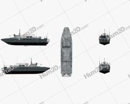 CB90-class fast assault craft Navio clipart