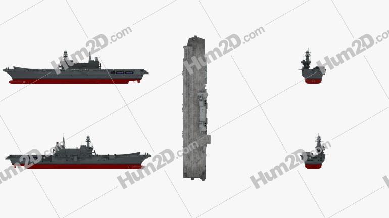 Cavour aircraft carrier Ship clipart
