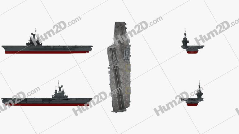 Charles de Gaulle aircraft carrier Ship clipart