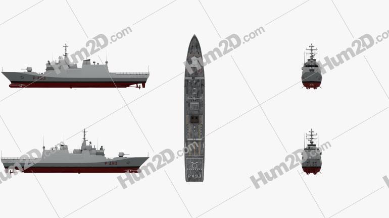 Comandanti-class patrol vessel Ship clipart