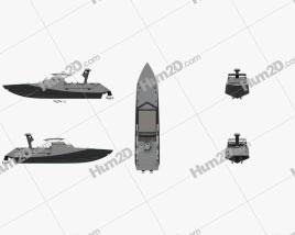Combatant Craft Assault (CCA) Ship clipart