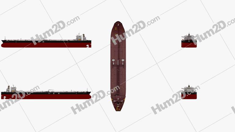 Crude Oil Tanker Decathlon Schiffe clipart