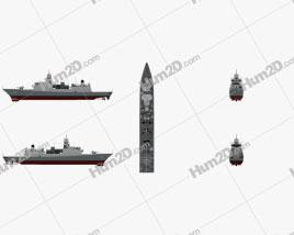 De Zeven Provincien-class frigate Ship clipart