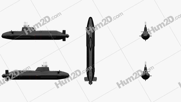 HMS Astute Royal Navy Nuclear Submarine