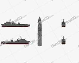 Harpers Ferry-class dock landing ship Schiffe clipart