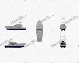 Hatteras GT65 Carolina Ship clipart