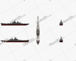 Iowa-class battleship Ship clipart
