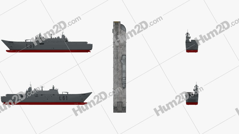 Juan Carlos I aircraft carrier Ship clipart