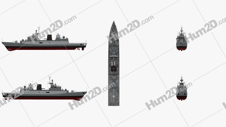 Kamorta-class corvette Ship clipart