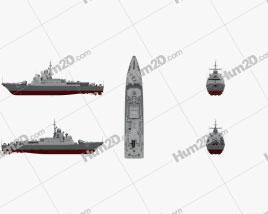 Karakurt-class corvette Schiffe clipart