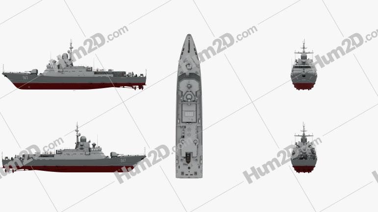 Karakurt-class corvette Ship clipart