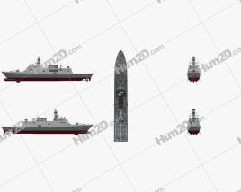 MILGEM project Ship clipart